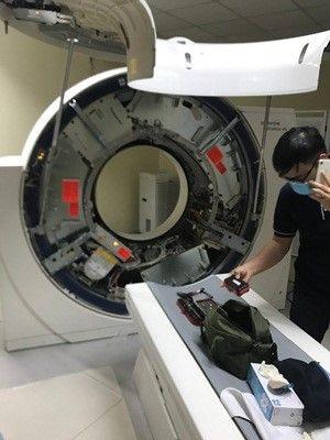 Sửa chữa máy chụp cắt lớp 128 lát cắt (Model Somatom Definition AS)