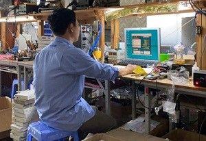 Sửa chữa, nâng cấp, cập nhật phần mềm các thiết bị đầu cuối
